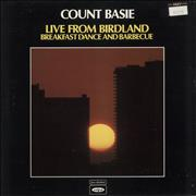 Count Basie Live From Birdland : Breakfast Dance And Barbecue UK 2-LP vinyl set