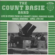 Count Basie Live From Paradise Island UK vinyl LP