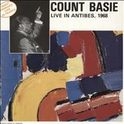 Count Basie Live In Antibes 1968 France vinyl LP