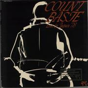 Count Basie Live In Japan '78 - Promo Stamped USA vinyl LP