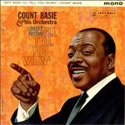 Count Basie Not Now, I'll Tell You When - Factory Sample UK vinyl LP