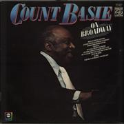Count Basie On Broadway UK vinyl LP