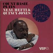 Count Basie Plays Neal Hefti & Quincy Jones UK 2-LP vinyl set