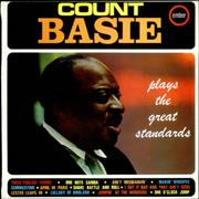 Count Basie Plays The Great Standards UK vinyl LP