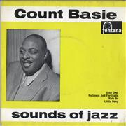 """Count Basie Sounds Of Jazz EP UK 7"""" vinyl"""