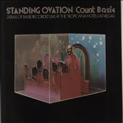 Count Basie Standing Ovation UK vinyl LP