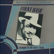Count Basie Swingin' At The Daisy Chain UK vinyl LP