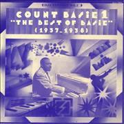 Count Basie The Best Of Basie Vol. 1 - 1937-1938 France vinyl LP
