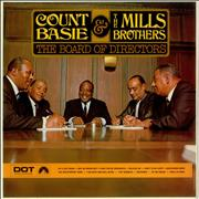 Count Basie The Board Of Directors - Factory Sample UK vinyl LP Promo