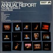 Count Basie The Board Of Directors Annual Report UK vinyl LP