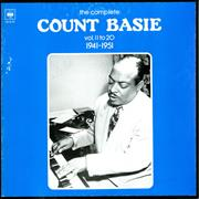 Count Basie The Complete Count Basie Volume 11 to 20 1941-1951 France vinyl box set