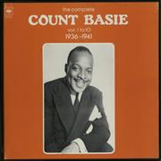 Count Basie The Complete Count Basie Volume 1 to 10 1936-1941 France vinyl box set