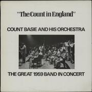 Count Basie The Count In England UK vinyl LP