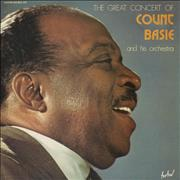 Count Basie The Great Concert Of Count Basie & His Orchestra France 2-LP vinyl set