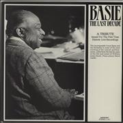 Count Basie The Last Decade USA 2-LP vinyl set