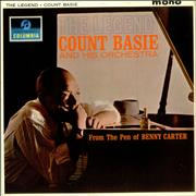 Count Basie The Legend UK vinyl LP Promo