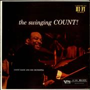 Count Basie The Swinging Count! USA vinyl LP