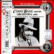 Count Basie The Uncollected 1944 Japan vinyl LP Promo