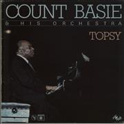 Count Basie Topsy France vinyl LP