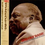 Count Basie Way-Out Basie Japan vinyl LP Promo