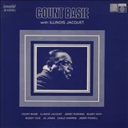 Count Basie With Illinois Jacquet UK vinyl LP
