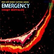Count Buffalos Emergency Japan vinyl LP