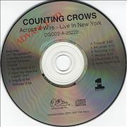 Click here for more info about 'Counting Crows - Across A Wire - Live In New York'