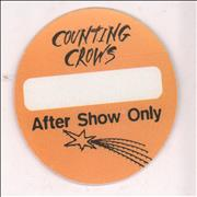 Counting Crows After Show Only UK tour pass