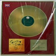 Counting Crows August And Everything After - Gold Award UK award disc