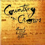 Counting Crows August And Everything After UK CD album