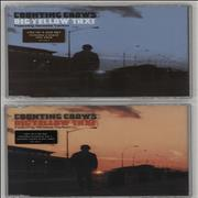 Counting Crows Big Yellow Taxi UK 2-CD single set