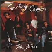 "Counting Crows Mr Jones UK 7"" vinyl"