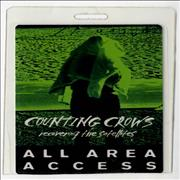Counting Crows Recovering The Satellites UK tour pass