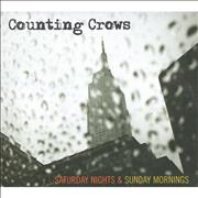 Counting Crows Saturday Nights & Sunday Mornings UK CD album