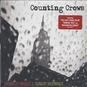 Counting Crows Saturday Nights & Sunday Mornings - Sealed Germany CD album