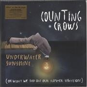 Counting Crows Underwater Sunshine - 180gm - Sealed UK 2-LP vinyl set