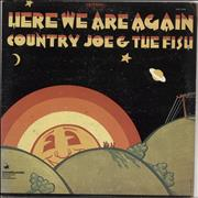 Click here for more info about 'Country Joe & The Fish - Here We Are Again'