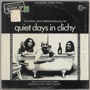 Click here for more info about 'Country Joe McDonald - Country Joe Welcomes You To Quiet Days In Clichy - 1st - Shrink'