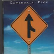 Coverdale Page Coverdale Page UK CD album