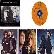 Coverdale Page Take Me For A Little While - Box Set UK CD single