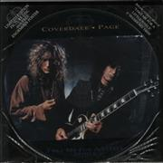 "Coverdale Page Take Me For A Little While - EX UK 12"" picture disc"