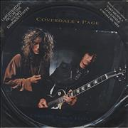 "Coverdale Page Take Me For A Little While UK 12"" picture disc"