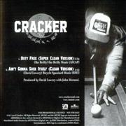 Click here for more info about 'Cracker - Duty Free/Ain't Gonna Suck Itself'