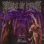 Cradle Of Filth Excerpts From Midian UK CD single Promo