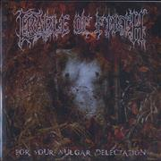 Click here for more info about 'Cradle Of Filth - For Your Vulgar Delectation'