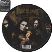 "Cradle Of Filth Honey And Sulphur Germany 7"" picture disc"