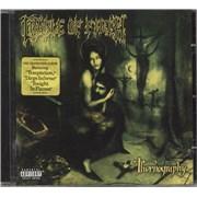 Cradle Of Filth Thornography UK CD album