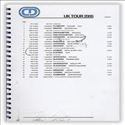 Click here for more info about 'Craig David - UK Tour 2000 - Tour Itinerary'