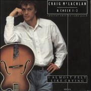 Click here for more info about 'Craig McLachlan - I Almost Felt Like Crying - Cube Pack'