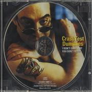 Click here for more info about 'Crash Test Dummies - I Don't Care That You Don't Mind'